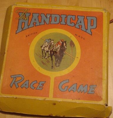 AA HANDICAP RACE GAME KARTONG