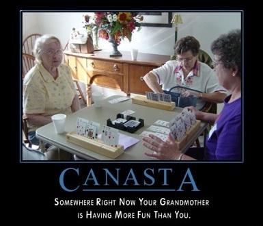 CANASTA GRANDMOTHERS