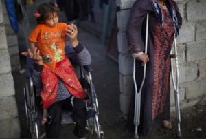 Över 120 000 har dött och än fler skadats allvarligt hittills under kriget i Syrien. Foto: UNHCR.