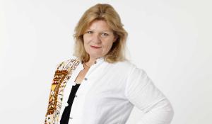 Cecilia Uddén, Sveriges Radios Mellanösternkorrespondent. Foto: Mattias Ahlm/SR.