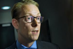 Tobias Billström, migrationsminsister.