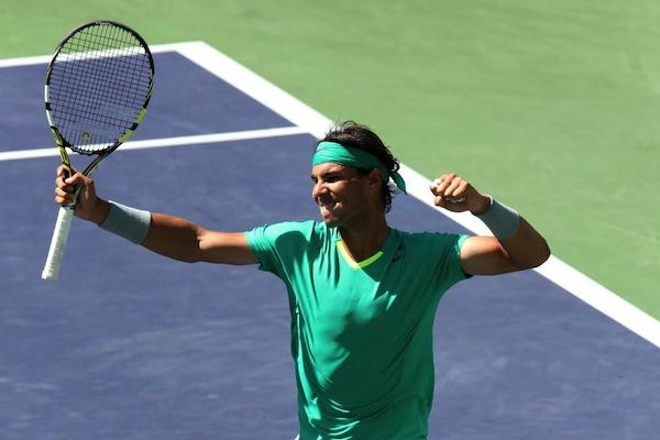 Rafael Nadal vann sin 22:a Masters-titel i karriären. FOTO: AP