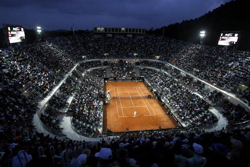 I Rom möttes Rafael Nadal och Novak Djokovic i deras andra av totalt tre finaler mot varandra under grussäsongen 2012.