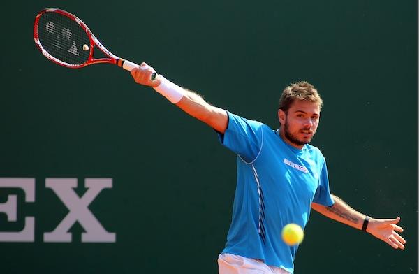Stanislas Wawrinka är klar för kvartsfinal i Madrid Masters efter seger över Grigor Dimitrov. FOTO: BILDBYRÅN