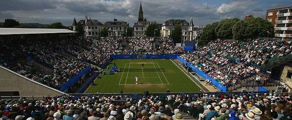 Andy Roddick vann sin näst sista titel i karriären i Eastbourne förra året.