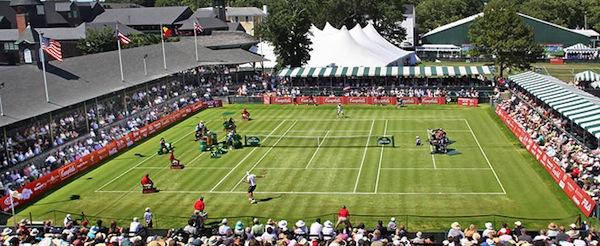 John Isner har vunnit Hall of Fame Tennis Championships två år i rad.