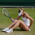 Även världstrean Maria Sjarapova stod över US Open på grund av skada. FOTO: BILDBYRÅN