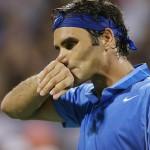 En tuff höst väntar Roger Federer. FOTO: BILDBYRÅN