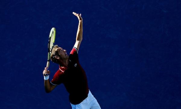 Richard Gasquet är klar för sin första Grand Slam-semifinal i karriären. FOTO: BILDBYRÅN