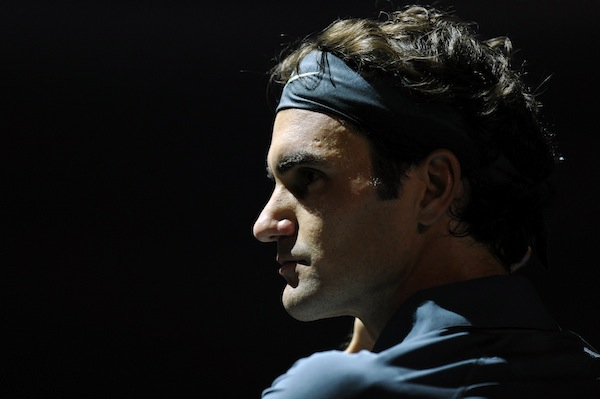 Roger Federer ska vara nöjd med att han tog set mot Novak Djokovic i sin öppningsmatch i World Tour Finals. FOTO: BILDBYRÅN