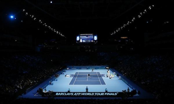 02 Arena i London, där World Tour Finals avgörs. FOTO: BILDBYRÅN