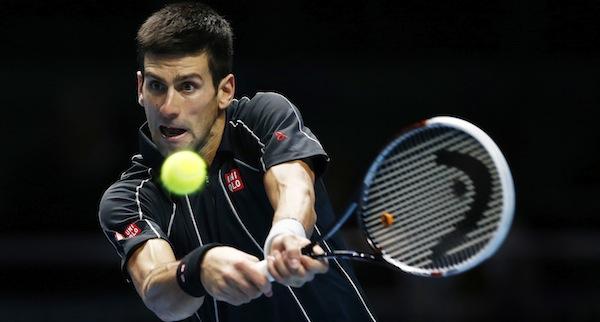 Novak Djokovic har redan vunnit gruppen. FOTO: BILDBYRÅN