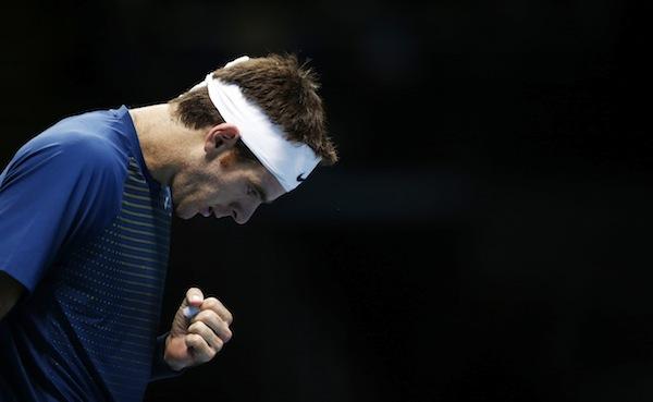 Juan Martín del Potro har aldrig förlorat mot Roger Federer i slutspelssammanhang. FOTO: BILDBYRÅN