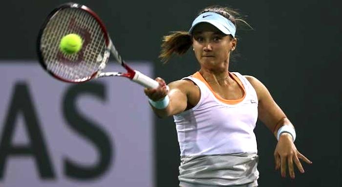 20-åriga Lauren Davis skrällslog Victoria Azarenka i Indian Wells.