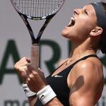 Lucie Safarova slog Ana Ivanovic.
