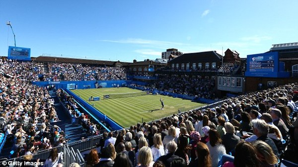 Queen's Club Championships i London.