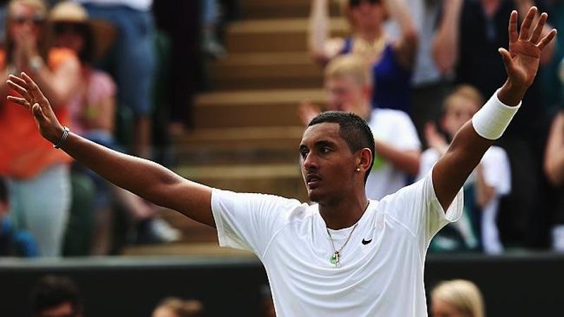 144-rankade Nick Kyrgios, 19 år, har precis fullbordat Wimbledons största skräll.