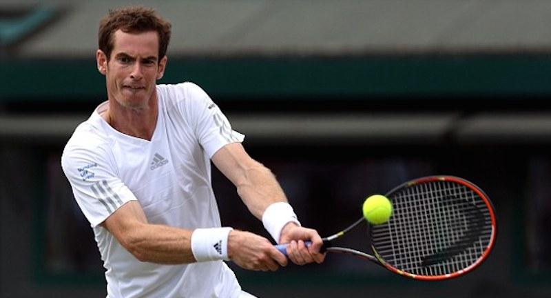Andy Murray går från klarhet till klarhet i Wimbledon. FOTO: GETTY