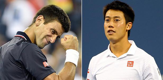 Novak Djokovic vill ha revansch på Kei Nishikori efter förlusten i US Open.