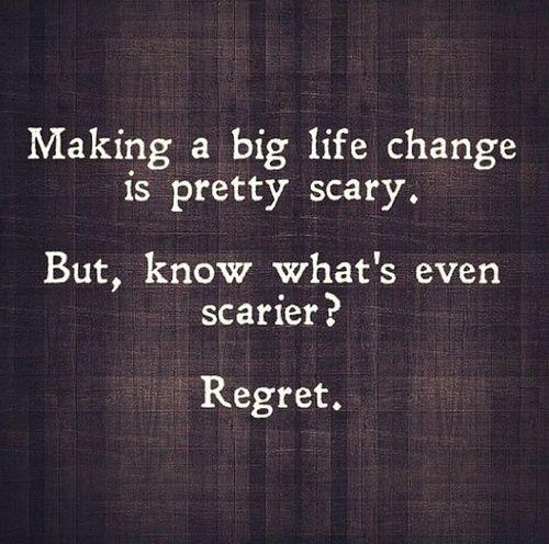 making a big change