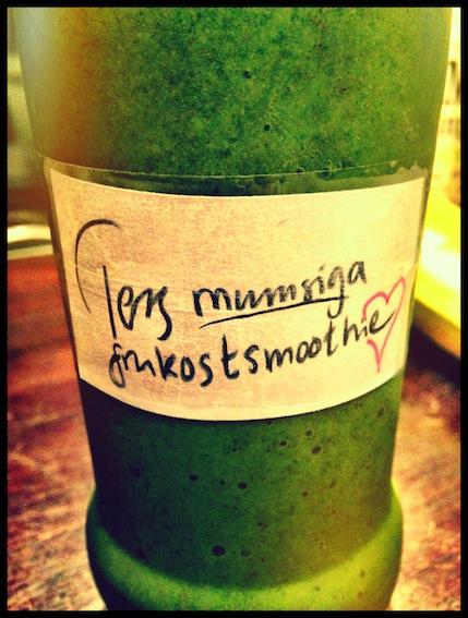 tess frukostsmoothie