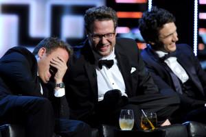 """Jonah Hill får höra av komikern Jeffrey Ross att han tackade ja till Tarantinos spaghettiwestern """"Django unchained"""" redan efter ordet """"spaghetti""""..."""