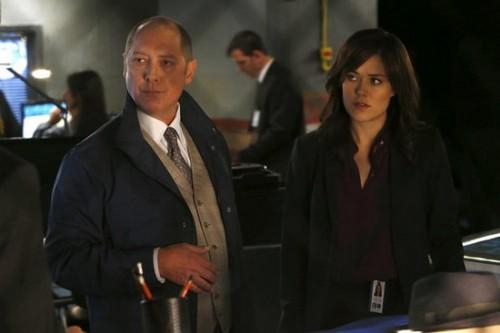 James Spader och Megan Boone i Blacklist.