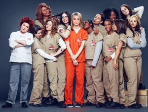 "Några av kvinnorna i ""Orange is the new black""."