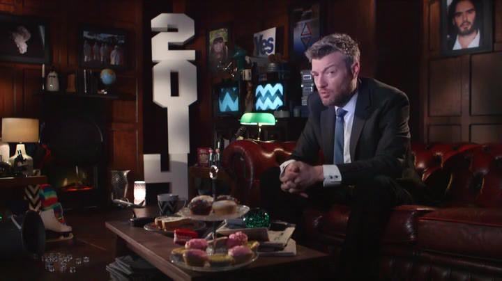 Charlie Brooker i tv-soffan...