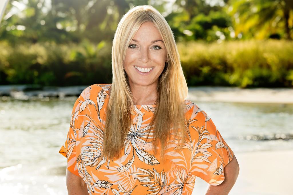 Linda Lindorff är programledare för Robinson - love edition.