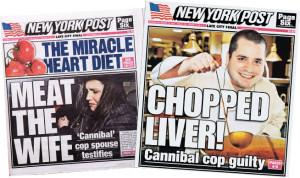 Några av rubrikerna om fallet.