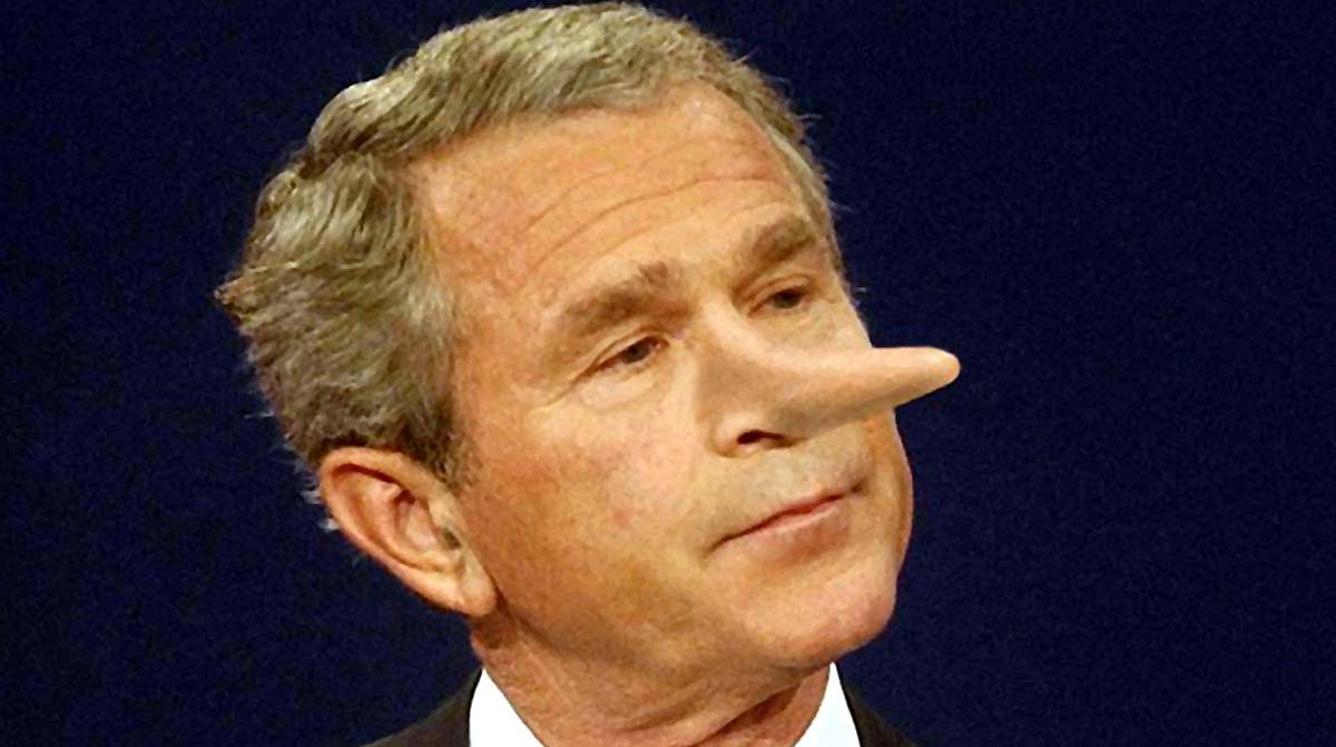 bush-lies