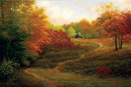Och vad vore en text om livskris utan en bild på en stig i skogen?